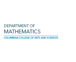 Department of Mathematics in the Columbian College of Arts & Sciences